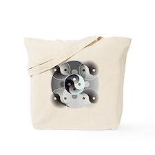 Four Yin and Yangs Tote Bag