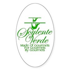 Soylente Verde Oval Decal