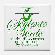 Soylente Verde Tile Coaster
