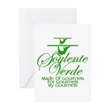 Soylente Verde Greeting Card