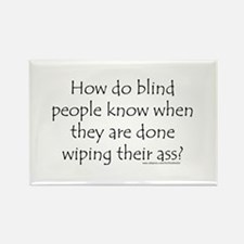 Funny Blind Rectangle Magnet