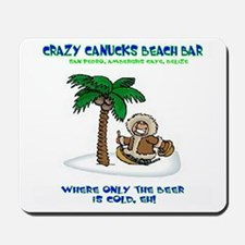 Crazy Canucks Mousepad
