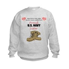 Proud US Navy Sister Sweatshirt