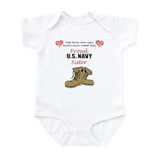 Proud US Navy Sister Infant Bodysuit