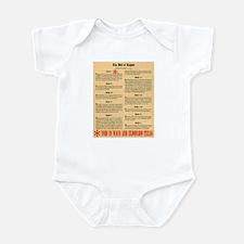Texas Civil Rights Infant Bodysuit
