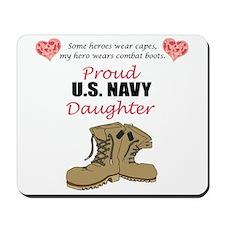 US Navy Daughter Mousepad