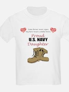 US Navy Daughter T-Shirt