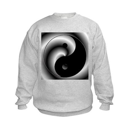 Yin and Yang Kids Sweatshirt