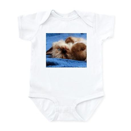 Blue Himalayan Kitten Infant Bodysuit