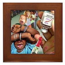 Vaccine Framed Tile