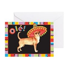 Fiesta Chihuahua Greeting Card