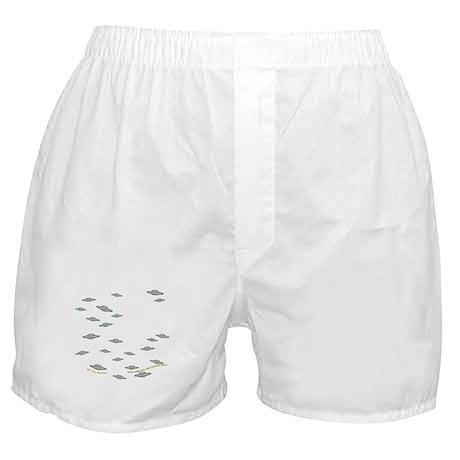 Cute Little UFO's Boxer Shorts