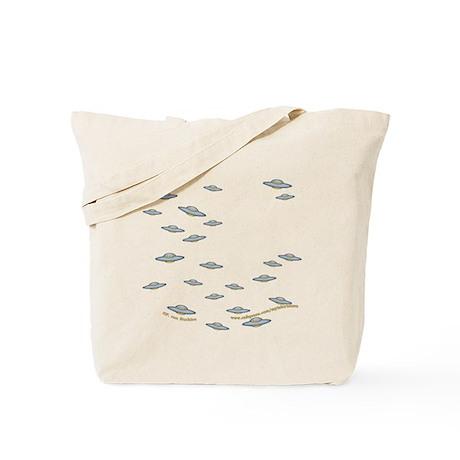 Cute Little UFO's Tote Bag