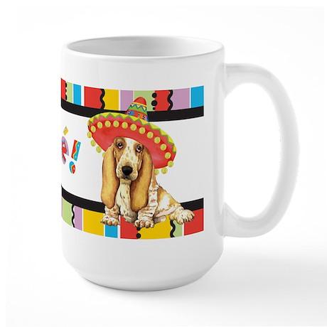 Fiesta Basset Large Mug