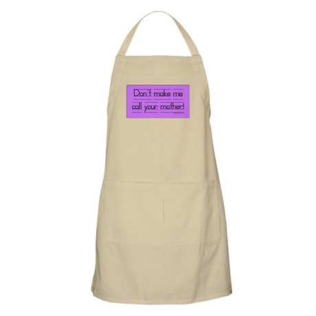 Don't make me call! BBQ Apron