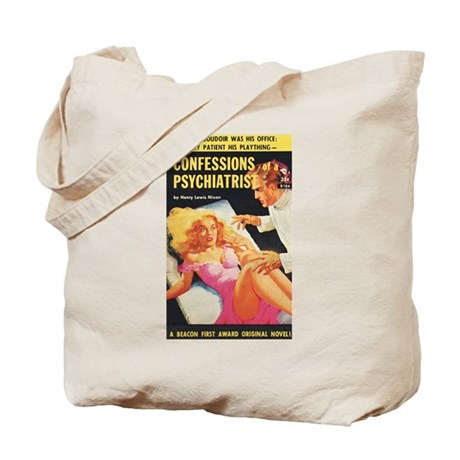 "Tote Bag - ""Confessions of a Psych."""