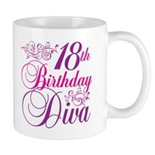 18th Birthday Diva Mug