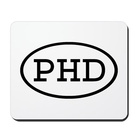 PHD Oval Mousepad