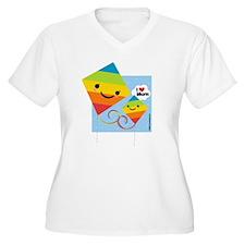 I Heart Mom Kites T-Shirt