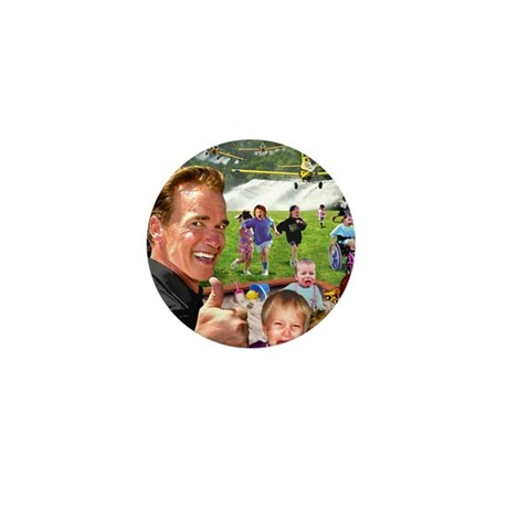 Arnold Spraying Mini Button (100 pack)