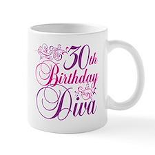 30th Birthday Diva Mug