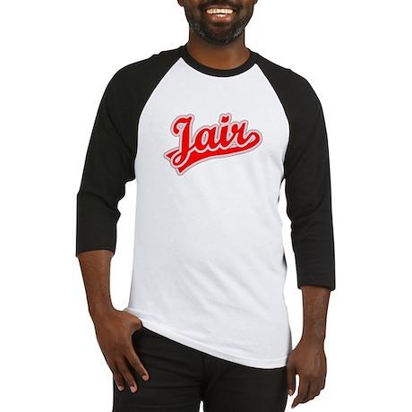 Retro Jair (Red) Baseball Jersey