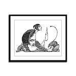 Faust 85 Framed Panel Print