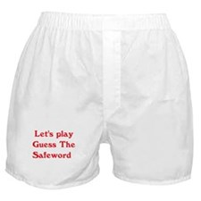 Guess the safeword Boxer Shorts