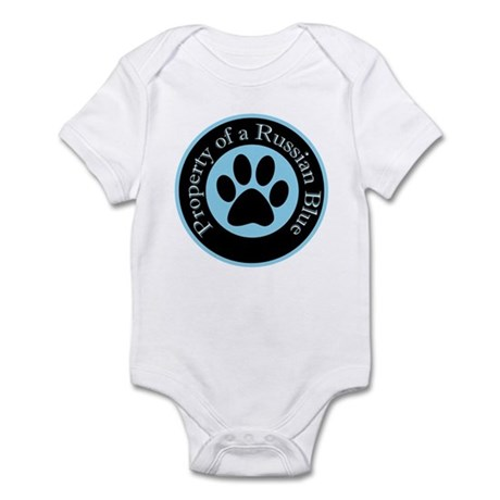 Property of a Russian Blue Infant Bodysuit