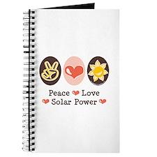Peace Love Solar Power Journal