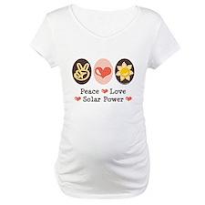 Peace Love Solar Power Shirt