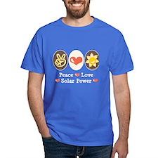 Peace Love Solar Power T-Shirt