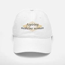 Aspiring Medicine Woman Baseball Baseball Cap