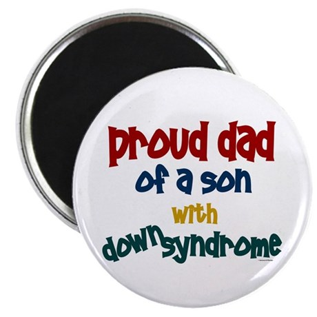 "Proud Dad.....2 (Son DS) 2.25"" Magnet (10 pack)"