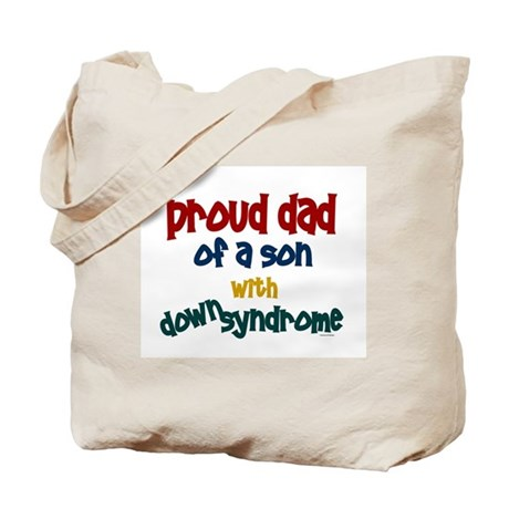 Proud Dad.....2 (Son DS) Tote Bag