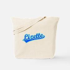 Retro Lizette (Blue) Tote Bag