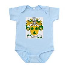 Parra Family Crest Infant Creeper