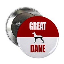 "Great Dane 2.25"" Button"