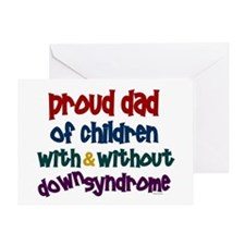 Proud Dad.....2 (With & Without DS) Greeting Card