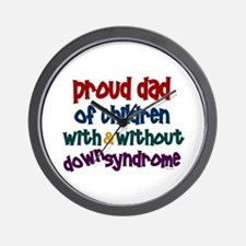 Proud Dad.....2 (With & Without DS) Wall Clock
