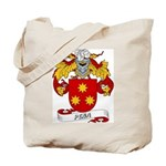Pena Family Crest Tote Bag