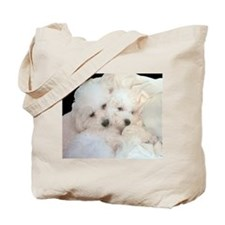 BICHONS IN LOVE TOTE BAG II