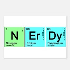 Periodic Nerd Postcards (Package of 8)