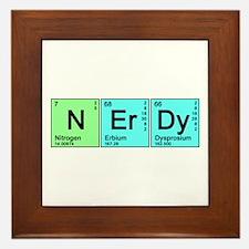 Periodic Nerd Framed Tile
