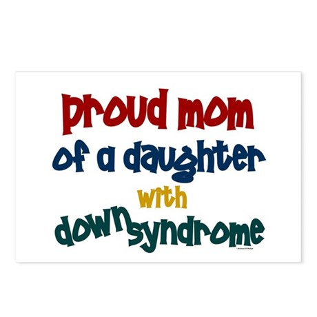 Proud Mom.....2 (Daughter DS) Postcards (Package o