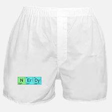 Periodic Nerd Boxer Shorts
