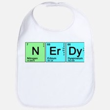 Periodic Nerd Bib