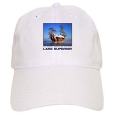 IT'S ALWAYS COOLER BY THE LAKE Baseball Cap