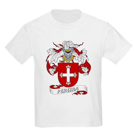 Pereira Family Crest Kids T-Shirt