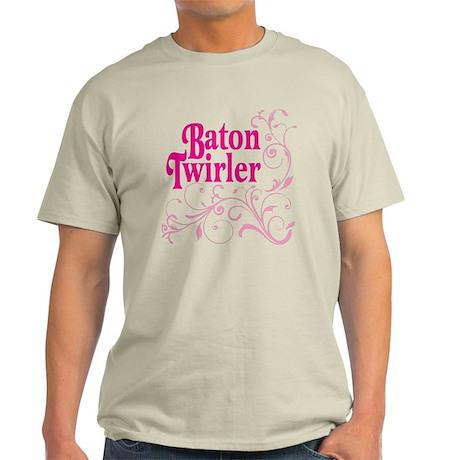 Baton Twirler Light T-Shirt